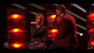 Evie Clair And Chase Goehring Perform With The STAR James Arthur On America´s Got Talent 2017