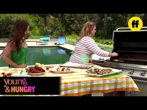 Young & Hungry  Young & Foodie Gabi's Grill feat. Aimee Carrero  Freeform