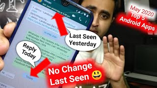 5 Powerful ANDROID Apps Latest May 2020 | Reply Without Coming Online On WhatsApp | EFA