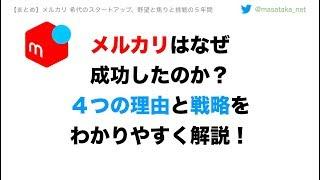 【メルカリ なぜ成功したか?】山田進太郎の信念と戦略をサクッとご紹介!