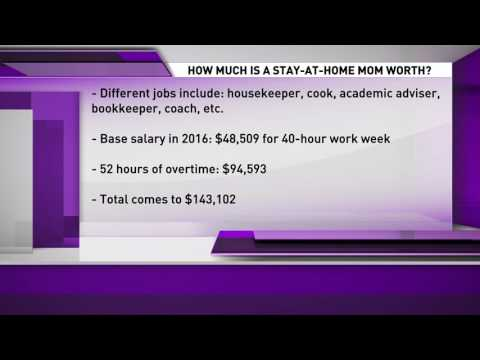 Aaron Zytle - How Much Should a Stay-at-Home Mom Be Paid