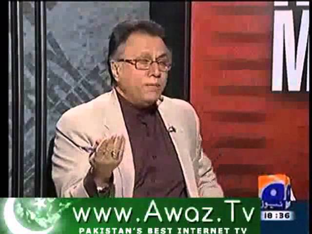 Good Governance from Hassan Nisar's Point of View