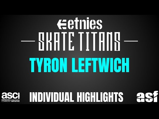 Tyron Leftwich Contest Highlights - Townsville Northshore Skate Titans 2018