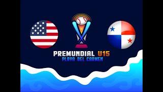 Súper Round Premundial U15 2019 USA Vs Panama