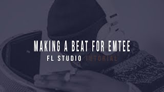 Making A Beat For Emtee|African Trap Movement Type Beat(FL STUDIO beginners Tutorial)