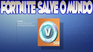 WIE VIEL V-BUCKS I EARN PER DAY AT FORTNITE SAVE THE WORLD