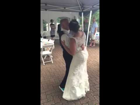 Sandy and Gary's first dance