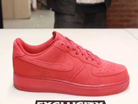 Homme Nike Air Force One Rouge