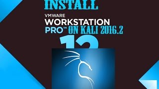 How to Install Vmware On Kali Linux 2017