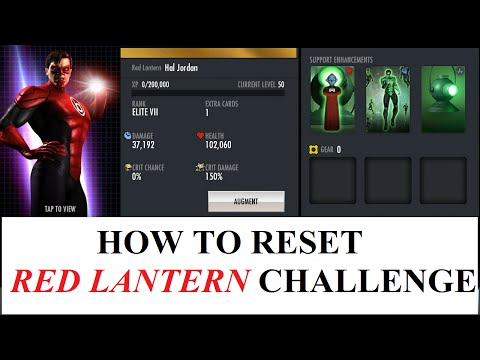 101.HOW TO RESET RED LANTERN CHALLENGE ANDROID