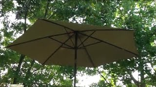 How To Repair A Broken Patio Umbrella Arm With Copper Pipe