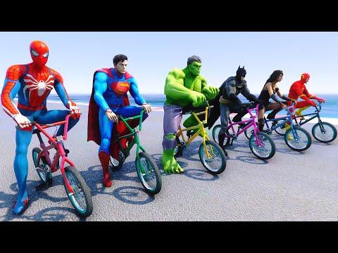 SpiderMan And BMX