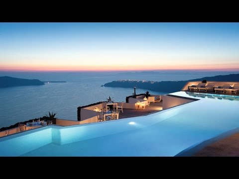 Discovering Grace Hotel Santorini Hotels On Santorini Youtube