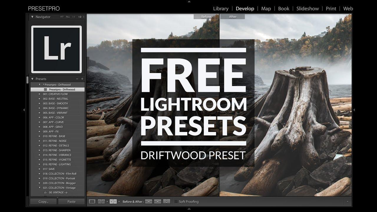 Free Lightroom Preset Driftwood - Download Now!