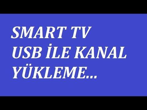 Vestel Smart TV USB ile kanal listesi indirme ve yükleme 2018