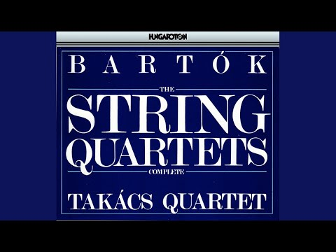 String Quartet No. 1, Op. 7, Sz. 40: II. Allegretto