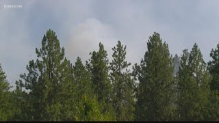 Discovery Fire in Spokane Valley burns 5 acres Sunday