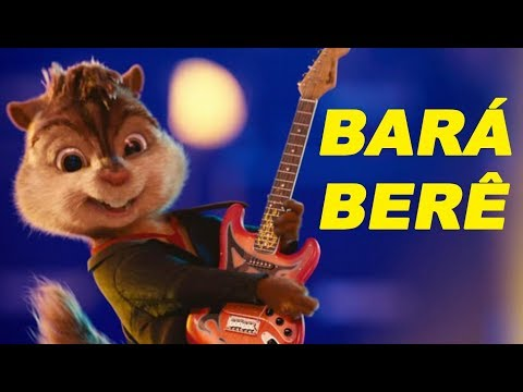 MICHEL TELÓ - BARÁ BERÊ [CLIPE OFICIAL] Alvin and The Chipmunks