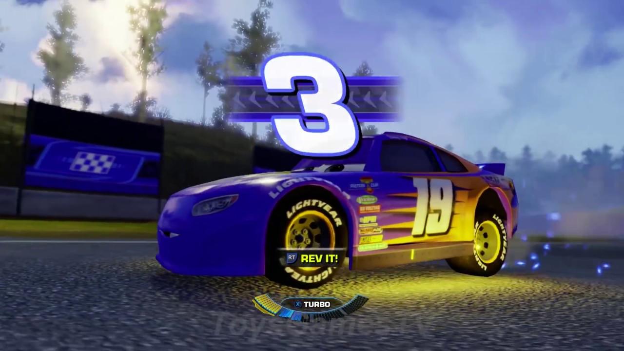 Cars 3 Driven To Win Gameplay Bobby Swift Fireball Beach Sprint Youtube