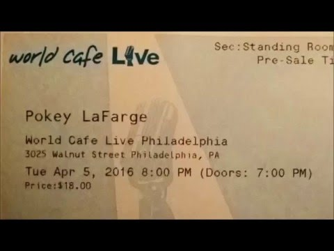 Pokey LaFarge - World Cafe Live Philadelphia, PA - 2016.04.05