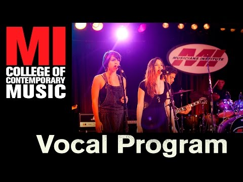 Vocal School | Vocal Classes | Vocal Program - MI - Musicians Institute