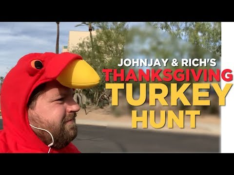 In-Studio Videos - Johnjay & Rich's Thanksgiving Turkey Hunt!