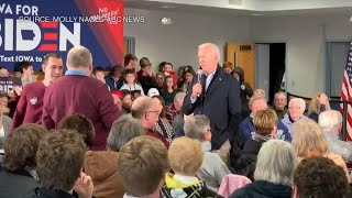 Watch Joe Biden Call Iowa Man a 'Damn Liar'