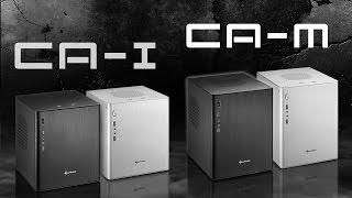 Sharkoon CA-I / CA-M Mini-ITX / mATX Aluminium PC Cases [en]