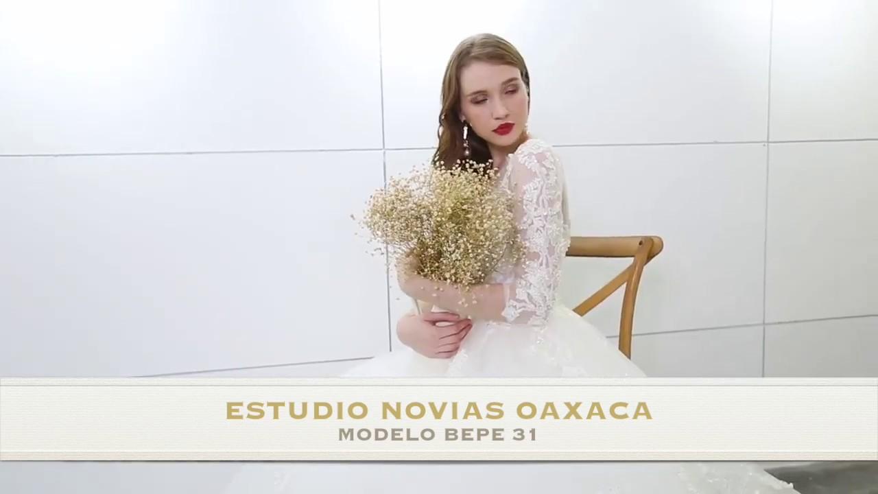 Vestidos Vestido Novia Mod Bepe 31 Bonito Hermoso Español Barato Elegante Estudio Novias Oaxaca