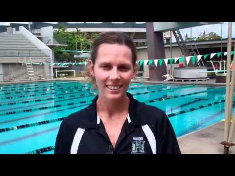 New University of Hawaii Water Polo Coach Maureen Cole