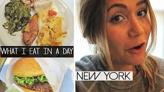 What I Eat In A Day | NEW YORK