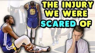 KEVIN DURANT Achilles Rupture | Doctor Explains Devastating NBA Finals Injury
