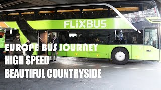 Europe BUS Travel | How is Bus Travel in Europe ? Vienna To Prague