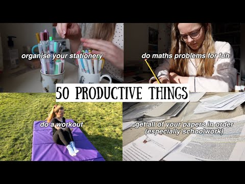 50 Productive Things to Do at Home during Lockdown    Ruby Granger