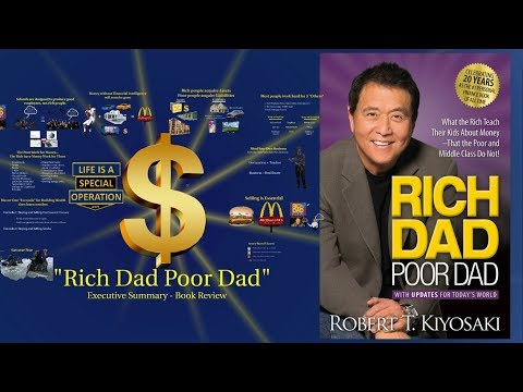 """How to Get Rich - """"Rich Dad Poor Dad"""" - An Executive Summary Book Review"""