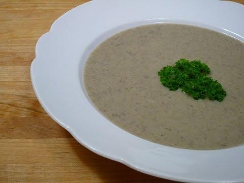 Champignon-Kartoffel-Cremesuppe