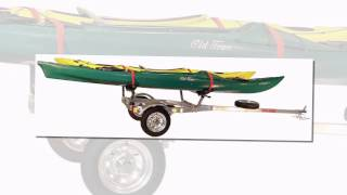 Best Price Free Shipping Malone Microsport 2-boat Seawing Kayak Trailer Package