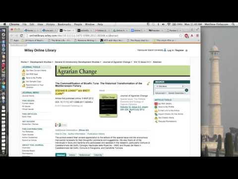 APA End Reference   Online Journal Article example