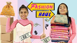 Biggest SHOPPING Haul - Fashion TADKA | #Styling #Trendy #Budget #LookBook #Anaysa #DIYQueen
