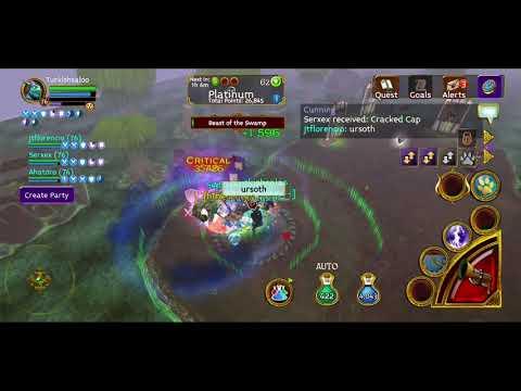Arcane Legends - Festerfang Deep Full Boss - %300 Gold Loot
