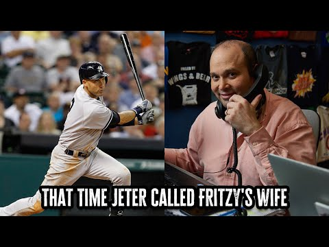 That Time Derek Jeter Called Fritzy's Wife | 06/11/21