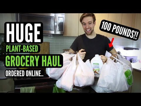HUGE GROCERY HAUL ORDERED ONLINE TO SAVE $100 & TIME!