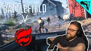 Battlefield 5 Firestorm Battle Royale Trailer Reaction