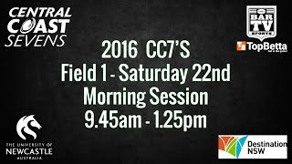 CC7s 2016 - Day 1 - Field 1 - Morning Session thumbnail
