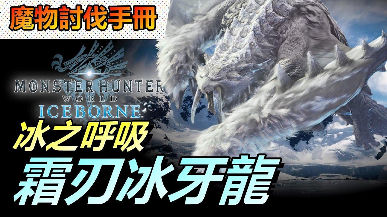【 MHWI 】霜刃冰牙龍 - 7分鐘討伐示範 & 武器防具特點   📚 魔物討伐手冊 | 字幕✔️ 魔物獵人世界 Monster Huner World