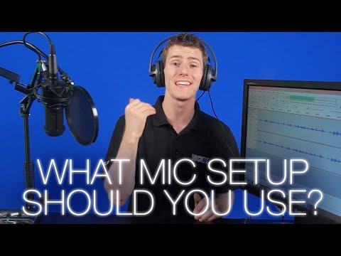Mic setup Comparison ft. Audio-Technica AT2020