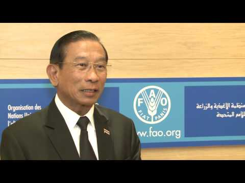Remarks by Thailand's Minister for Agriculture and Cooperatives