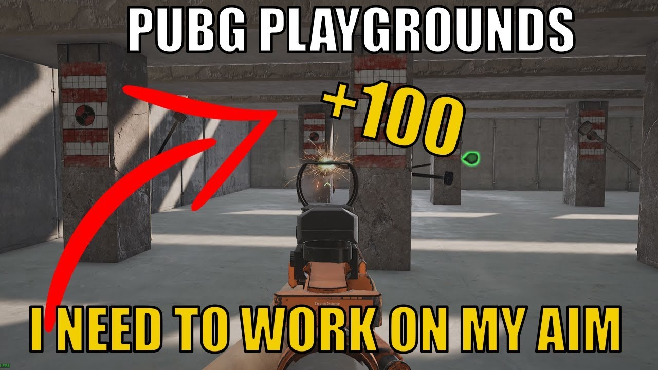 PUBG Shooting RANGE !! Practice your aim (no commentary)