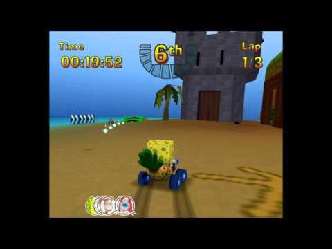 Nicktoons Racing with Spongebob & Bereghost