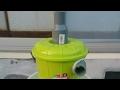 サイクロン集塵機の動作確認テスト動画